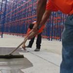 Reparación piso industrial bodega, Cali, Colombia