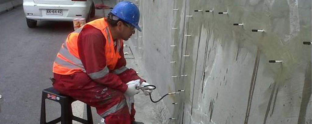 Inyección de estructuras en concreto