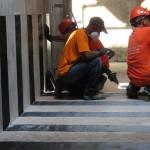 Reforzamiento estructural con tejido de fibra de carbono